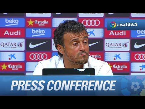 Press Conference Luis Enrique after FC Barcelona (2-0) Athletic Club - HD