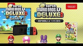 New Super Mario Bros. U Deluxe - EP 02 [GamePlay] | Geek Players Brasil
