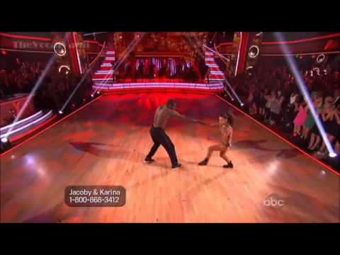 Jacoby Jones & Karina  SuperSize Freestyle - Finals - DWTS'16.