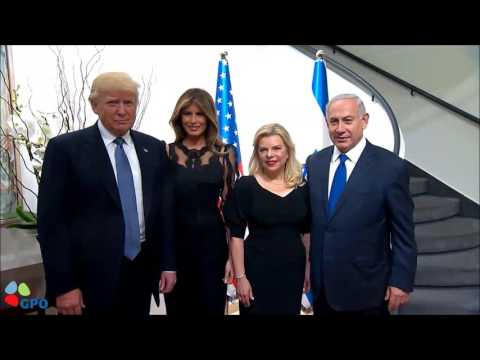 PM Netanyahu and Mrs Sara Netanyahu Host US President Trump and First Lady Melania Trump