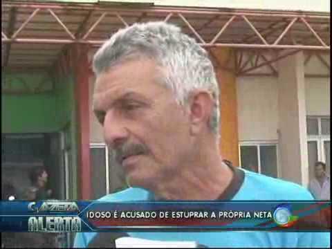 Idosos de 63 anos e acusado de estupra a propria neta de apenas 11 anos de idade