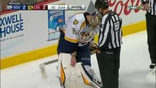 Gotta See It: Rinne causes delay searching for puck in equipment