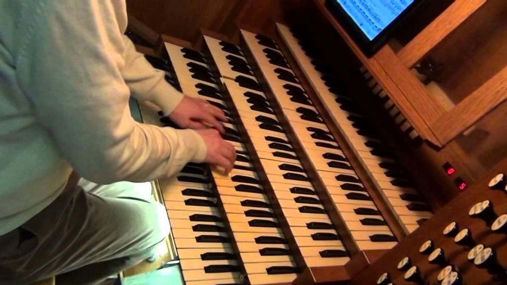 Ch.M. Widor : Allegro vivace, de la V�me Symphonie - Domenico ...