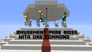 Amusement Park rides with two commands! [1.10]