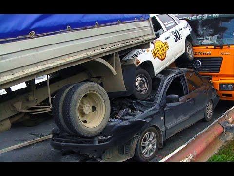 Best truck crashes, truck accident compilation 2016 Part 12