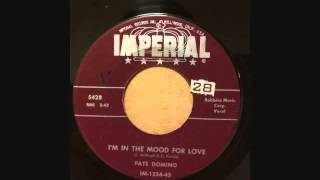 Watch Fats Domino Im In The Mood For Love video