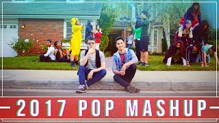 2017 MASHUP!! - TOP Hits in 3 Min (IN REVERSE 😎)