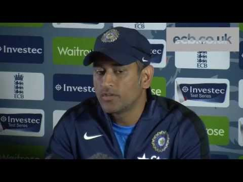 MS Dhoni focused on first Test between England and India