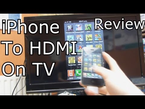 iPhone to HDMI Cable Review