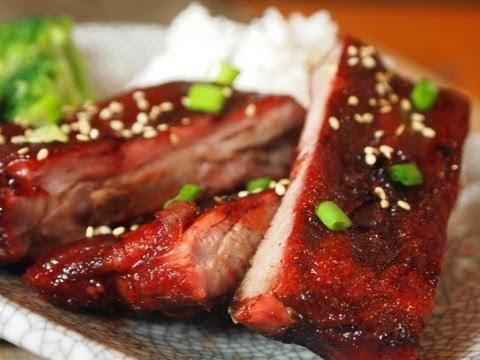 Chinese BBQ Rib Recipe (Char Siu)