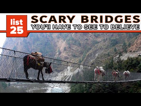 25 Scary Bridges You ll Have To See To Believe