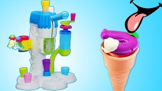 Pretend Play for Kids - Become a Young Chef with Play Doh Ice Cream Maker Playset by Unbox Me