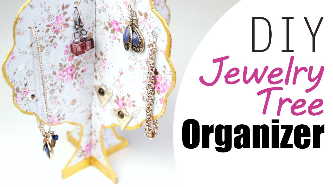 How to Make a Jewelry Tree