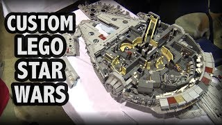 LEGO Millennium Falcon with Full Interior – 10,000 Pieces!