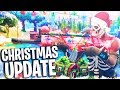 download NEW FORTNITE CHRISTMAS UPDATE + NEW SNOWBALL WEAPON! (Fortnite Battle Royale PS4 Gameplay Season 2)