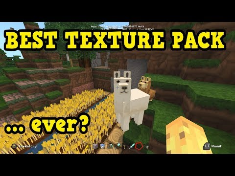 THE BEST RATED MINECRAFT PE TEXTURE PACK (Showcase)