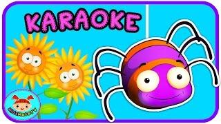 Itsy Bitsy Spider Nursery Rhymes (KARAOKE) ★KidsMateTv★