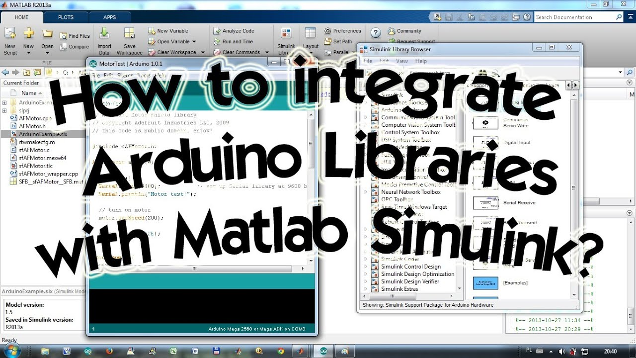 Matlab arduino add in download