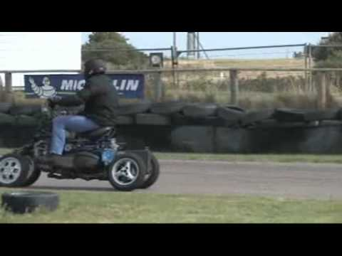 Four wheeled motorcycle 4MC  No.2