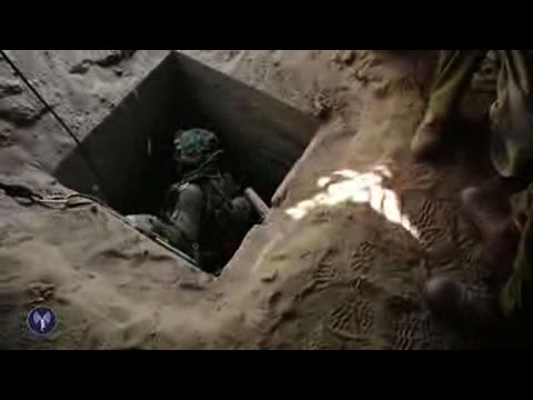 Israel army releases images they claim show tunnels from Gaza