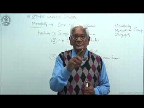 Features of Other Forms of Market Class XII Economics by S K Agarwala