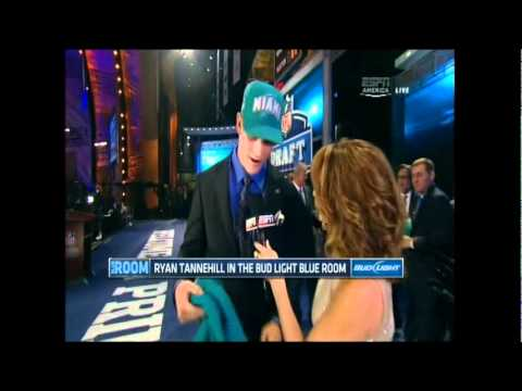 NFL Draft 2012 - Round 1 Pick #8 - Ryan Tannehill (Dolphins)