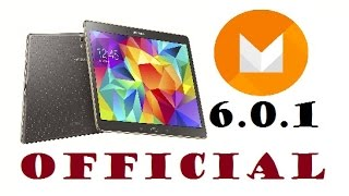Official Galaxy Tab S 6.0.1 Marshmallow Update (Quick look)