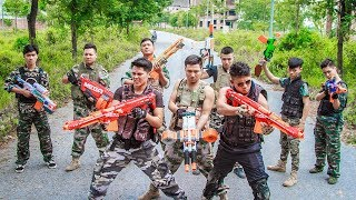 LTT Nerf War : SEAL X Warriors Nerf Guns Fight Criminal Group Dangerous Weapons High Level