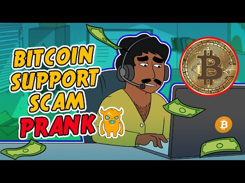 Bitcoin Support Scam crazy