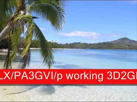 LX/PA3GVI/p working 3D2GM on Fiji, on 20 meter in CW
