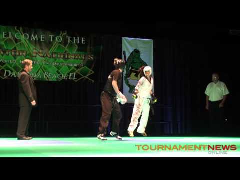 Chelsey Nash vs Nikki Pelland Women's Overall Finals at Gator Nationals 2013