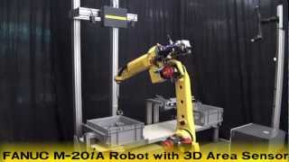 FANUC Bin Picking Robot with New iRVision 3D Area Sensor -- FANUC Robotics
