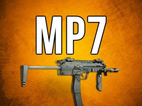 Black Ops 2 In Depth - MP7 SMG Review