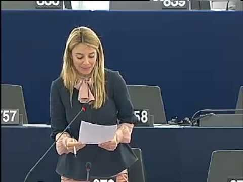 Barbara Matera sul Report Holmeiher sul bialancio del Parlamento europeo – Aprile 2013
