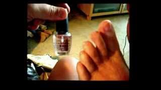 Ladys if your man loves you get him to do your pedicure and lay back and enjoy the ride.