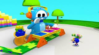 Animal Mechanicals 323 - Mechana Copycat Island | Full Episode HD | Cartoons for Kids