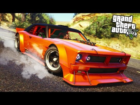 "GTA Online: ""Drift"" Tampa ""Sports"" Car - Another Disappointing DLC Car? (GTA 5 Cunning Stunts)"