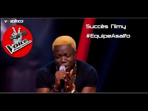 Succès Nimy chante 1er gaou  Auditions à laveugle  The Voice Afrique francophone 2016