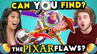 10 Pixar Mistakes You Won't Believe You Missed | Find The Flaws