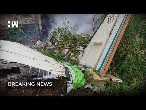 Breaking News: Chartered Plane crashed in Mumbai's Ghatkopar today.