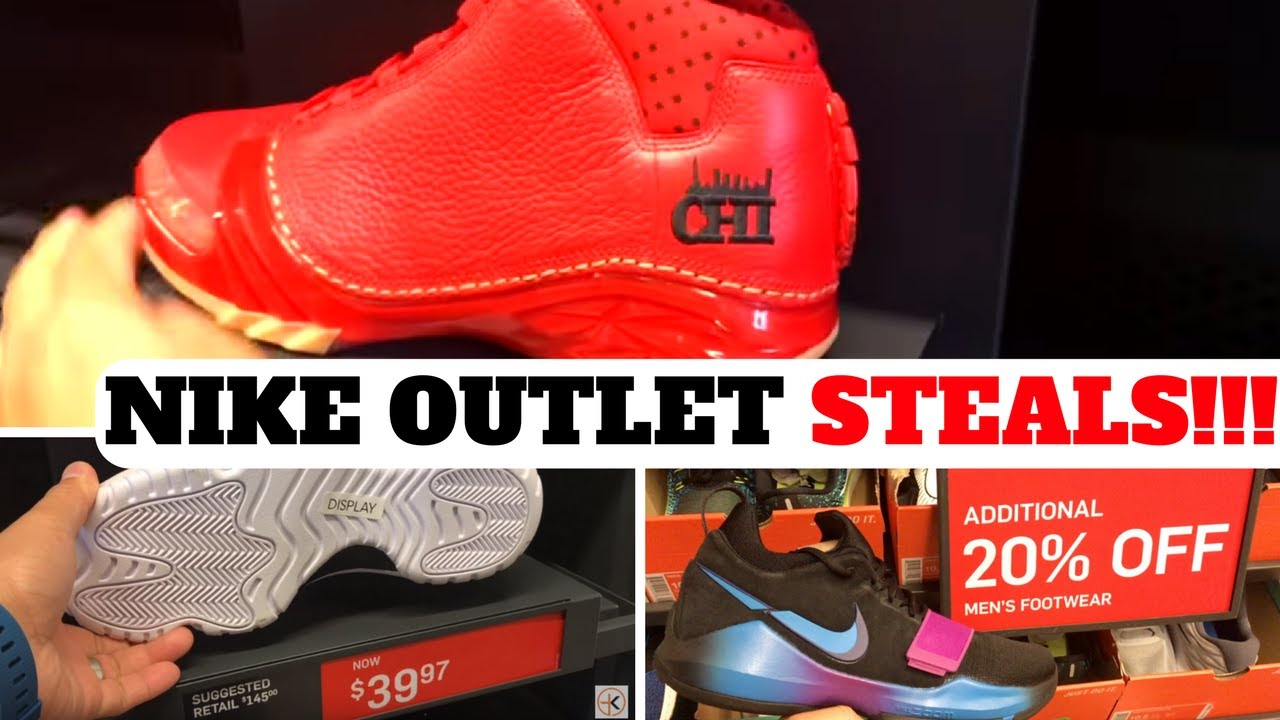 NIKE OUTLET STEALS! $39 JORDANS!  $35 NIKELAB SNEAKERS & MORE!