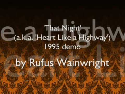 Rufus Wainwright - That Night