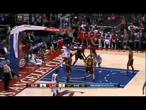 Blake Griffin Dunk Show vs.Cavs [3.19.11] -HD