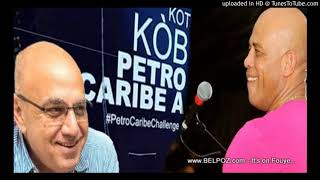 AUDIO: PetroCaribe - Reginald Boulos di arete President Martelly paske li di