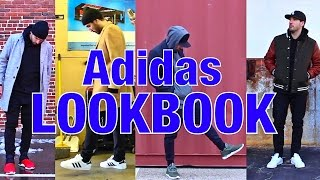 ADIDAS LOOKBOOK - HOW I WEAR MY ADIDAS - YEEZY, STAN SMITH, ULTRA BOOST, TUBULAR, ZX FLUX