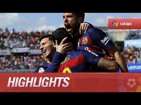 Highlights Granada CF (0-3) FC Barcelona