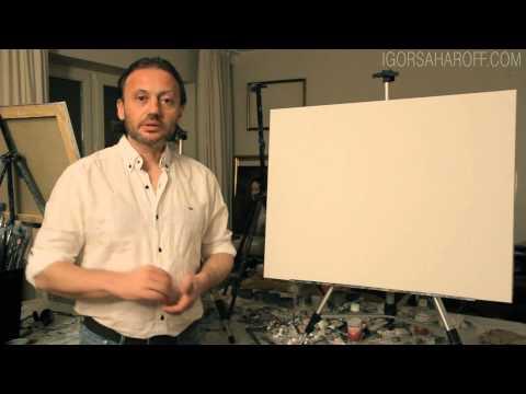 Видео как научиться рисовать маслом
