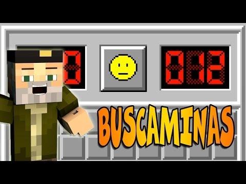 BUSCAMINAS!! | Minecraft MOD