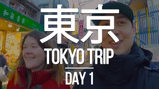 TOKYO TRIP 🇯🇵 - Day 1 - Traveling to Tokyo, AirBNB house, Amazing Ramen, and a Japanese Pharmacy