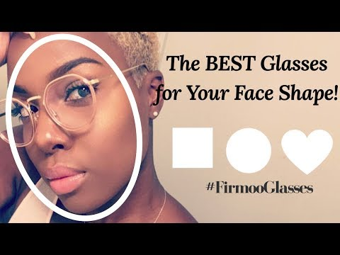 The BEST Glasses for Your Face Shape | Firmoo Review + FREE Glasses! | Nia Hope